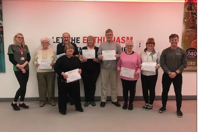 Team picture of the ESCAPE-pain graduates.