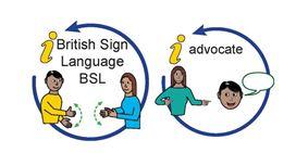 British Sign Language and advocate