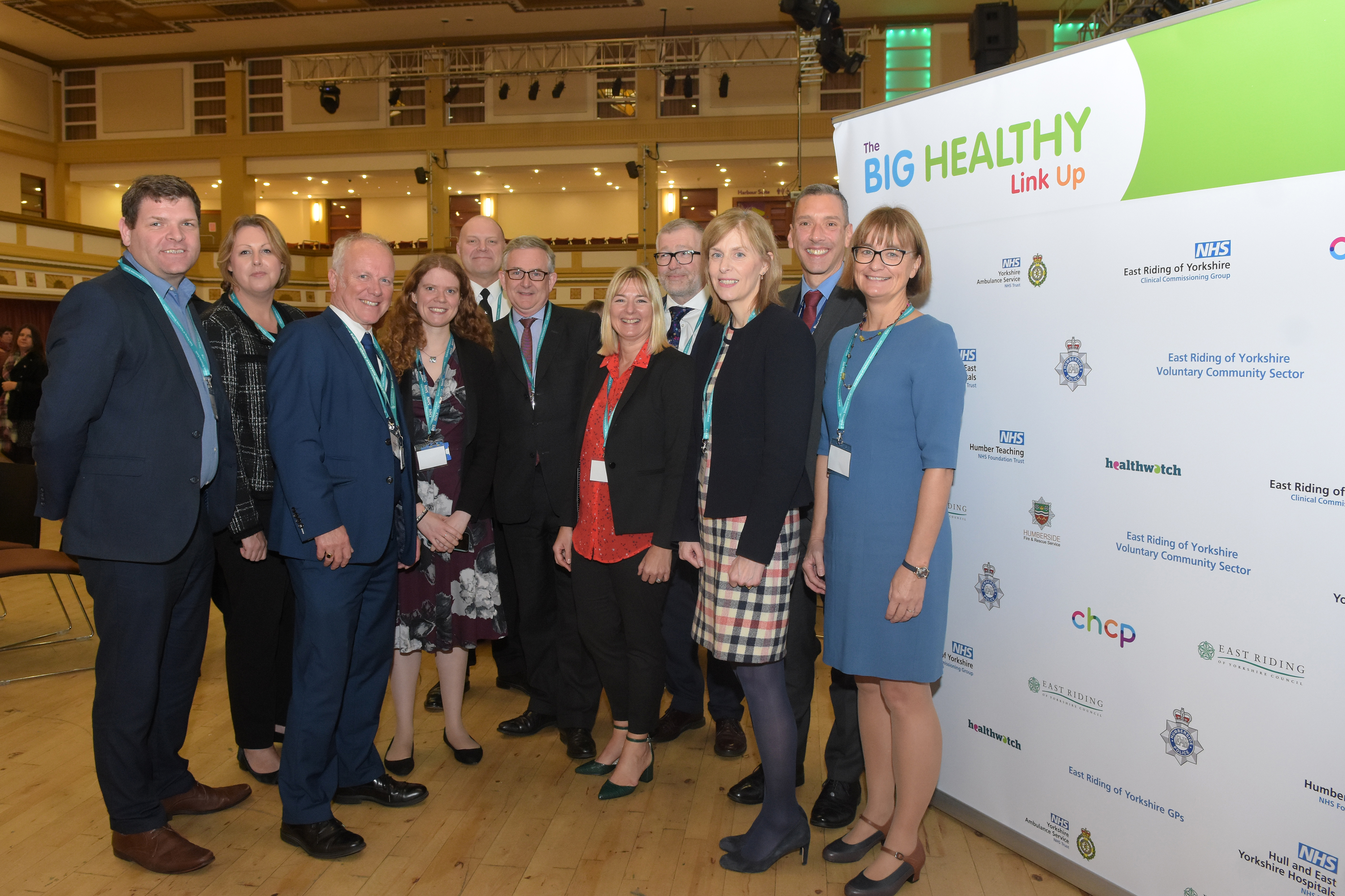 Attendees at The Big Healthy Link Up