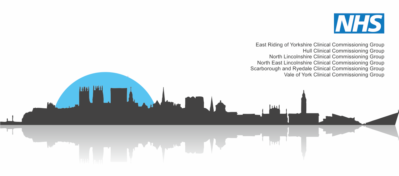 The Humber, Coast and Vale Health and Care Partnership logo